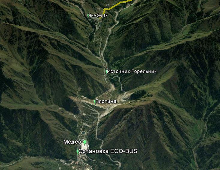 Как дойти до плато Мынжылкы?