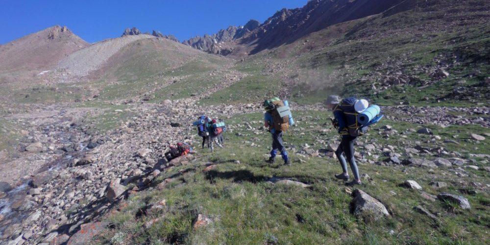 Мини-отчёт, о походе 1 категории сложности, 3-9 июля, 2017 года