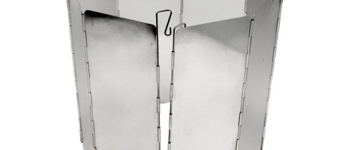 Алюминиевый экран для защиты от ветра