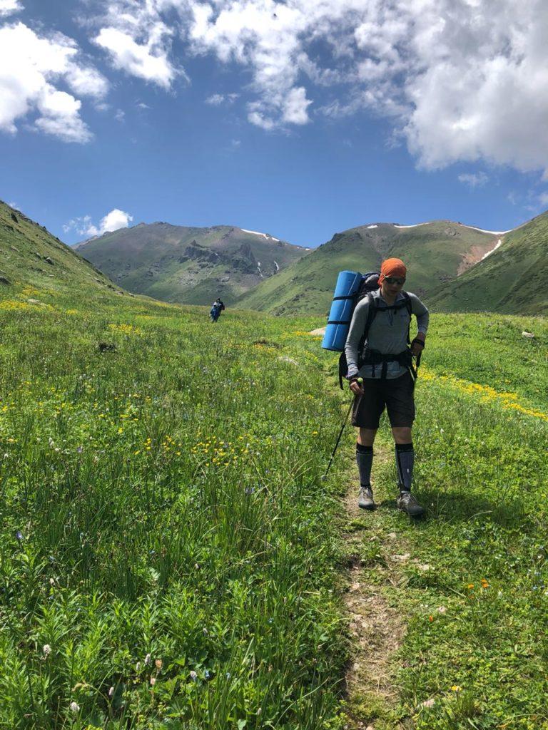Отчёт о походе Малая Алматинская Кругосветка 7-8 июля.